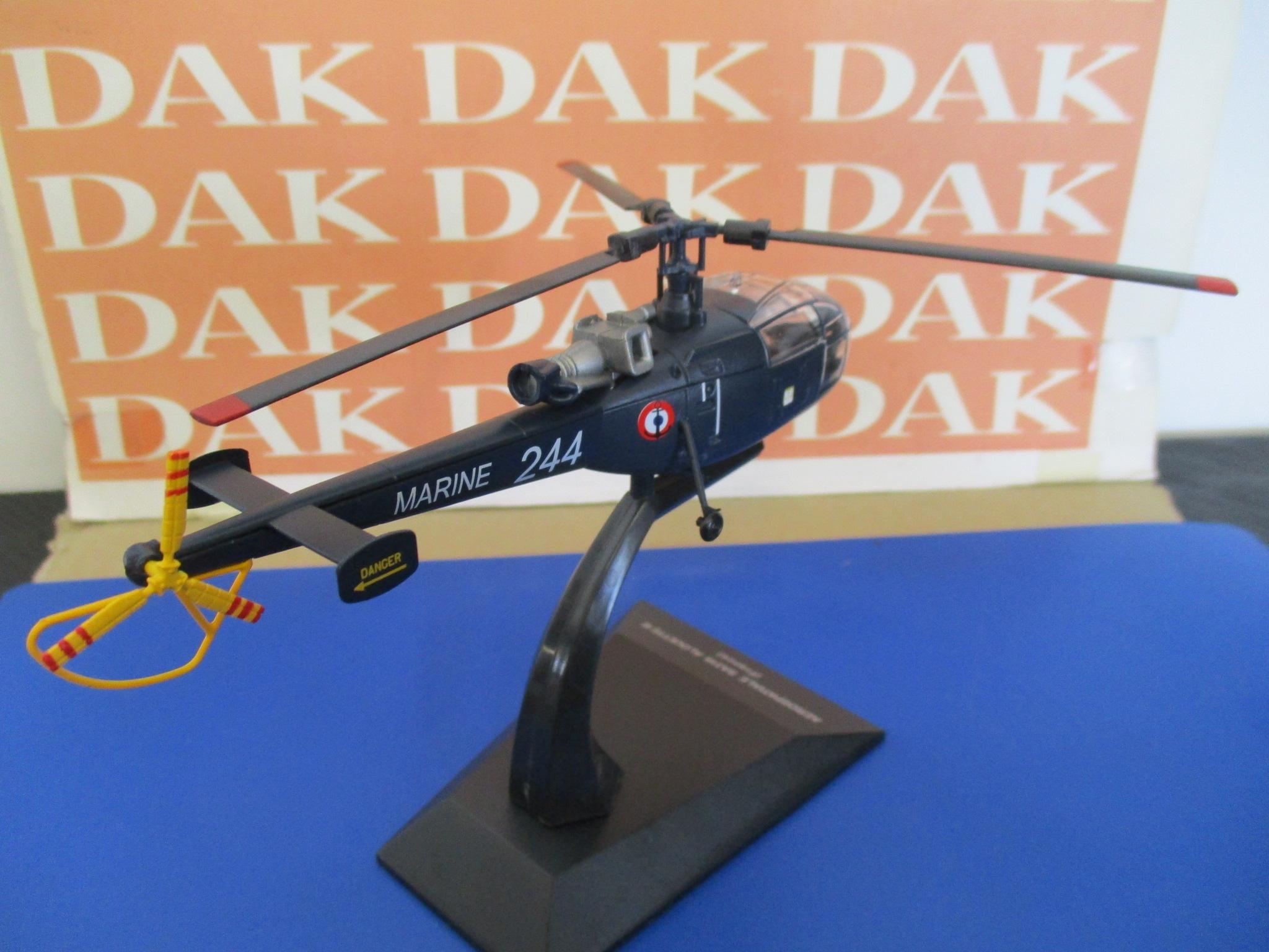 Die cast 1//72 Modellino Elicottero Aerospatiale SA319 Alouette III France