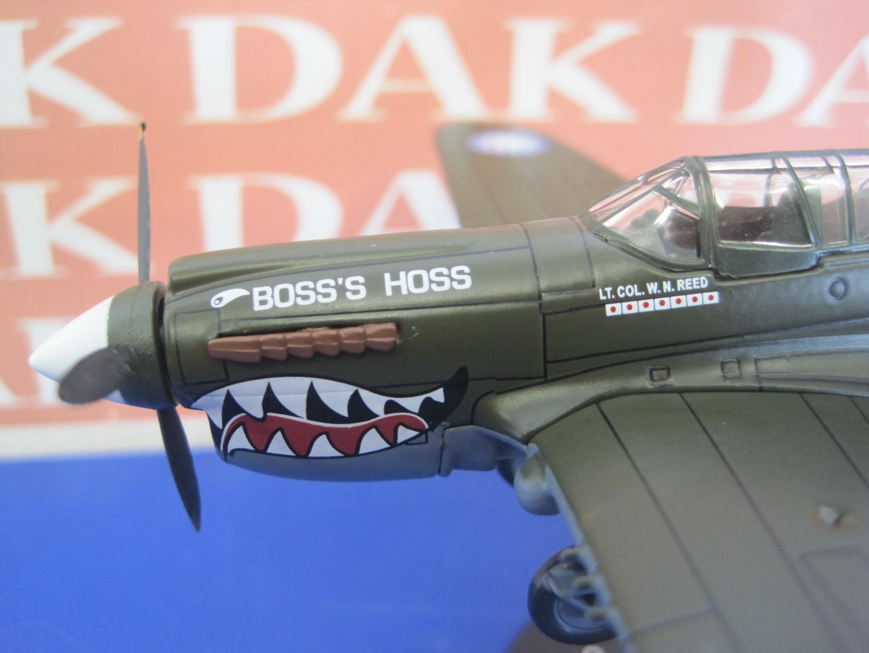 Modellino Aereo Die Cast Aircraft Curtiss P-40N Warhawk USA 1//72