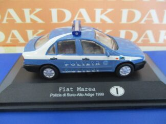 29 FIAT 132 2.0-1982 /_ 1:43 modellino Polizia italiana Police