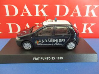 Die cast 1//43 Modellino Auto Carabinieri Fiat Uno 60 1985 blu