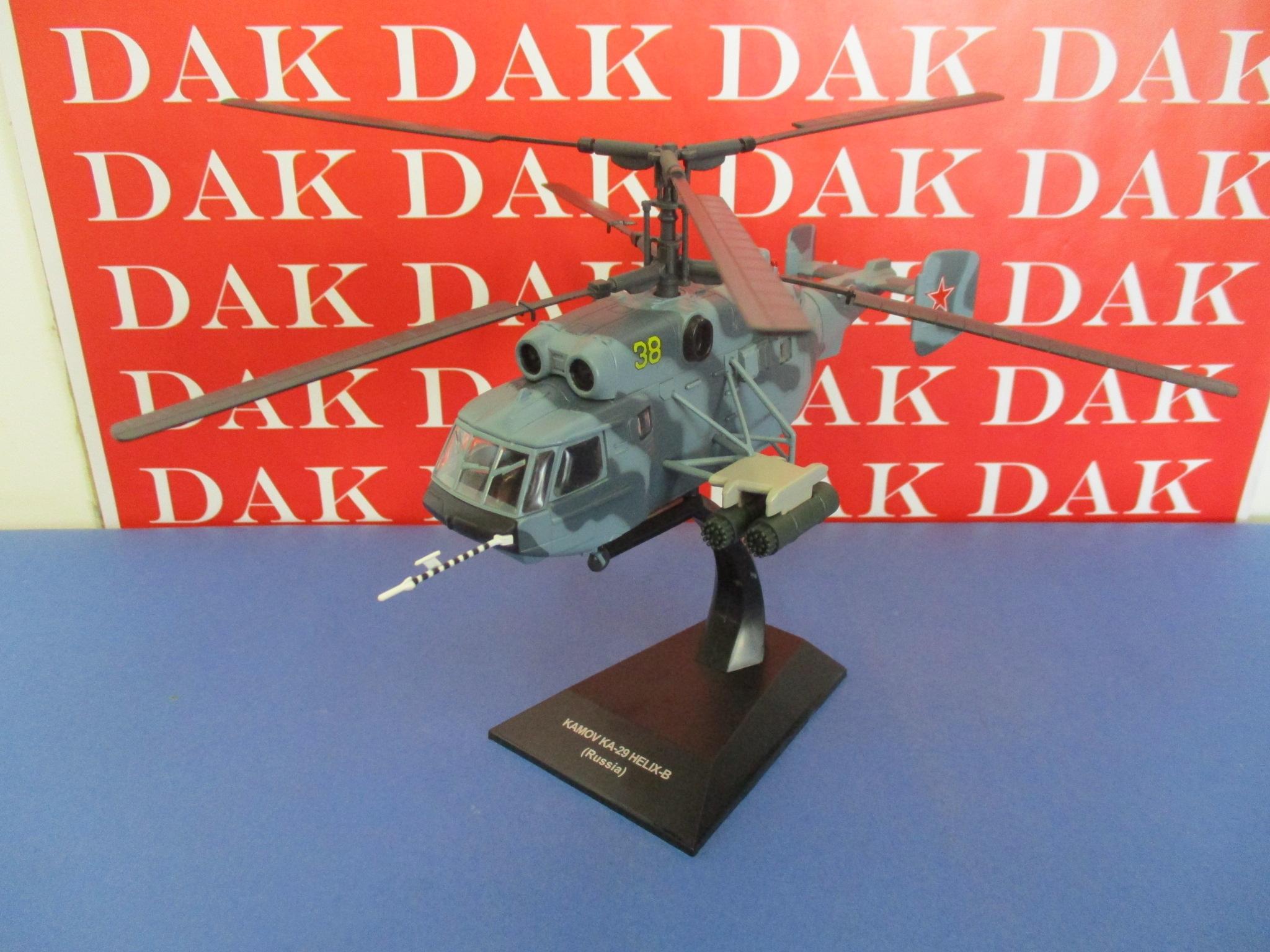 Die cast 1//72 Modellino Elicottero Helicopter Kamov KA-29 Helix-B Russia