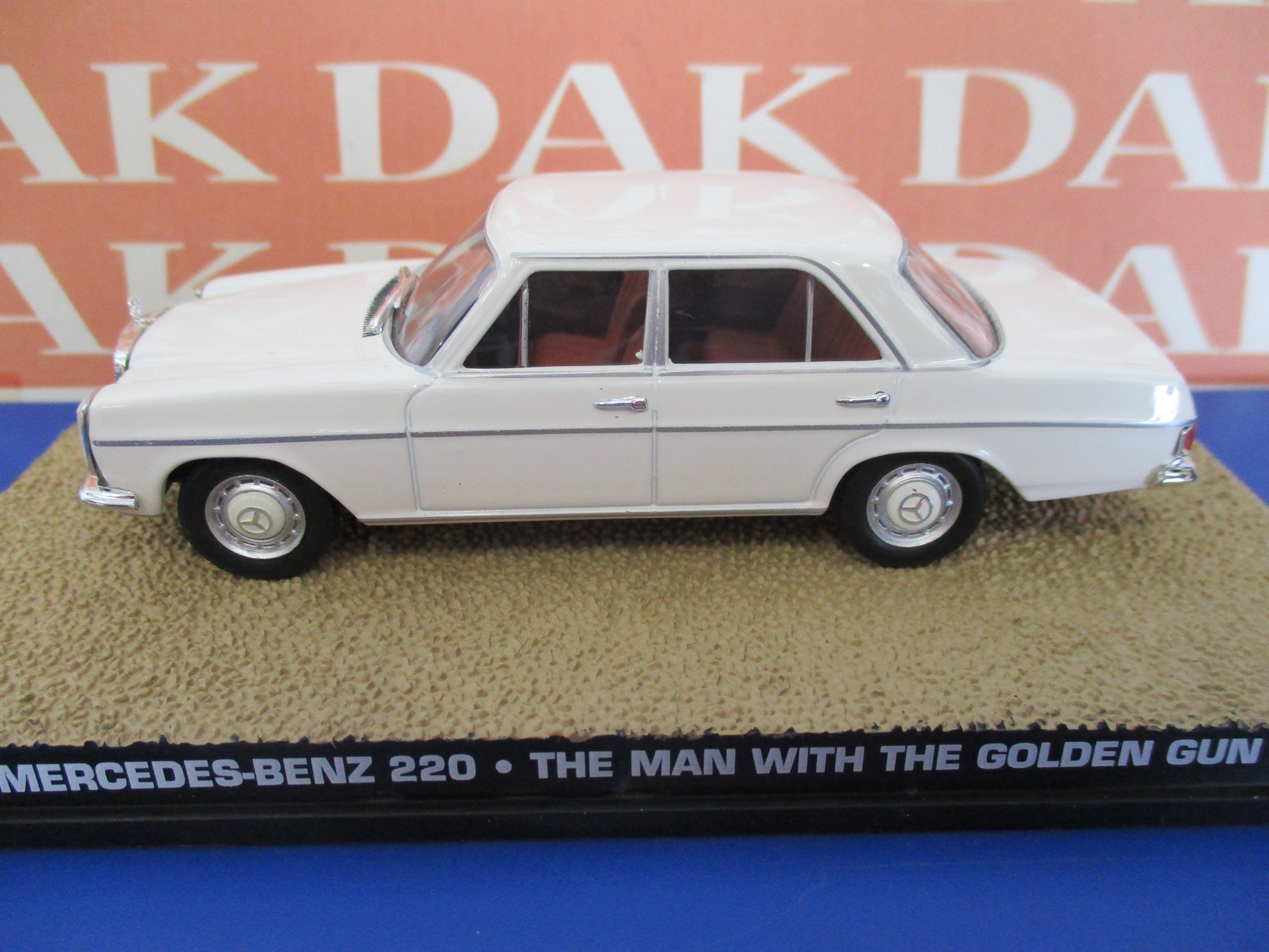 Die cast 1//43 Modellino Auto 007 James Bond Lincoln Continental Strechted Limo