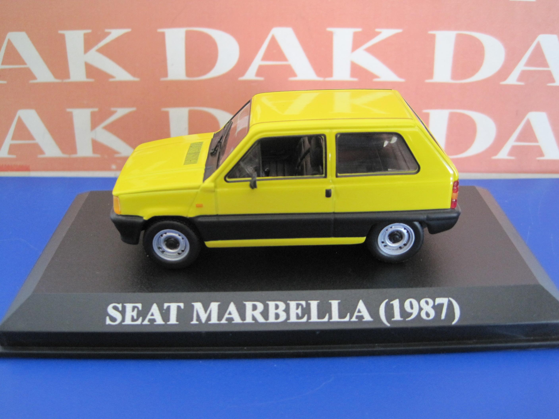 Die cast 1//43 Modellino Auto Seat Marbella 1987
