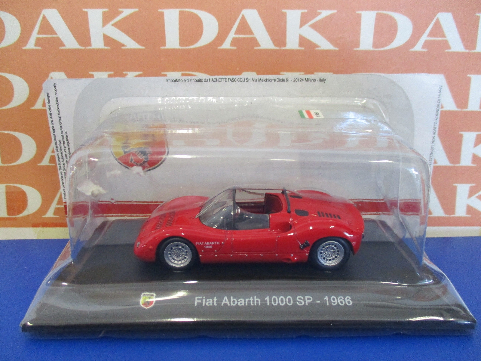 Die cast 1/43 Fiat Abarth 1000 SP 1966