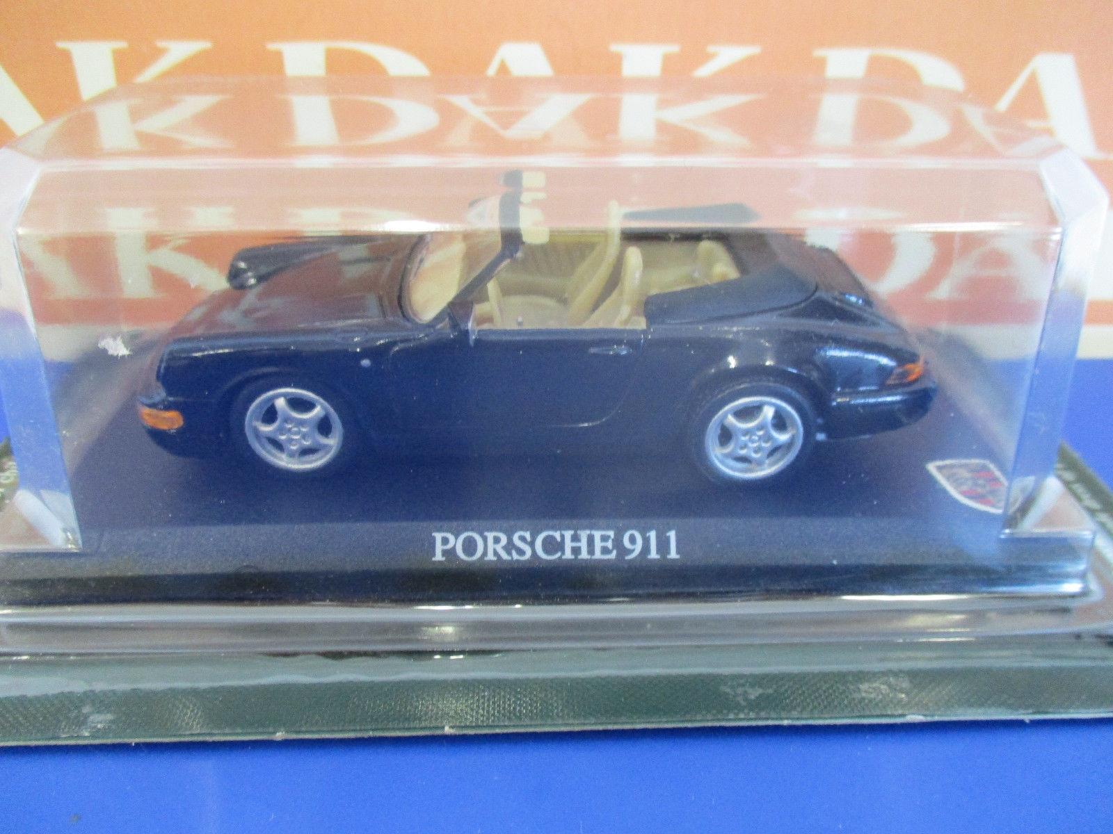 die cast 1 43 porsche 911 carrera 4 cabrio 1989 del prado. Black Bedroom Furniture Sets. Home Design Ideas
